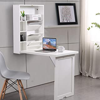 Lipo Desk with Bookshelf with 4 Tier Shelves - Writing...