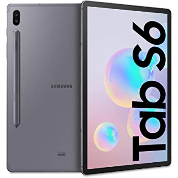 "Samsung Galaxy Tab S6 LTE 10.5"" 6GB/128GB Grau [Italienische Version]"