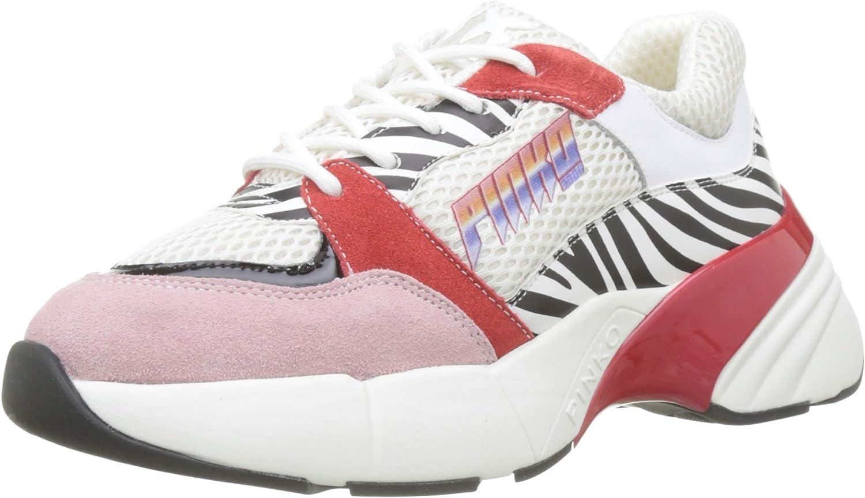 PINKO Women's Ametista Sneaker Slip On Trainers