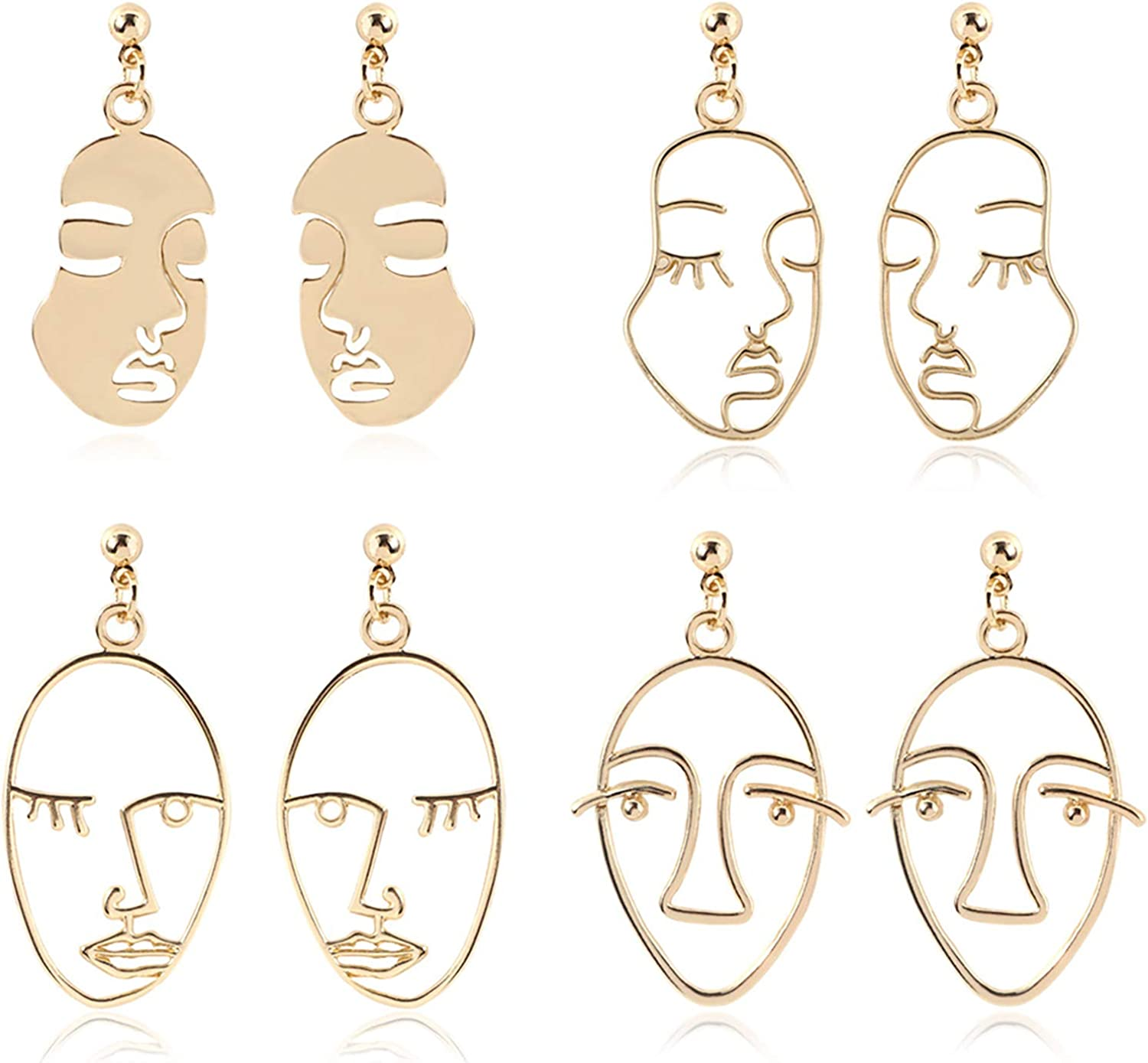 IVRRISS Different Fresno Mall Dangle Drop Earrings Set Pairs Women for Quantity limited G 4-8