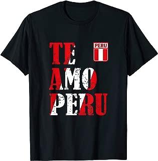 Best te amo peru shirt Reviews