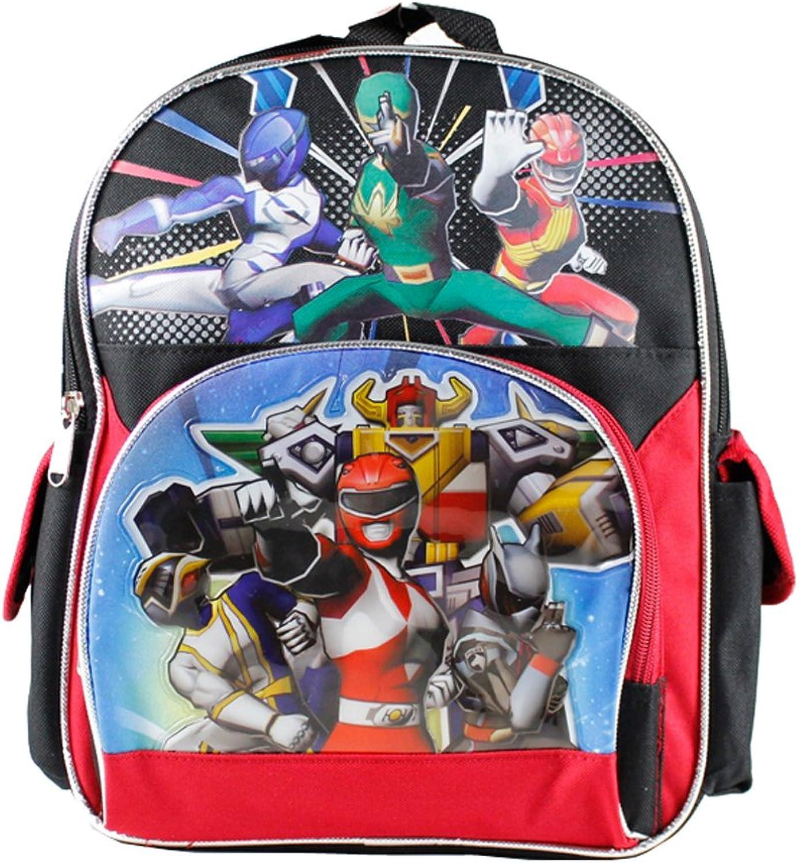 Small Backpack - Power Rangers Team New School Book Bag Boys 379704