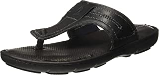 Hush Puppies Men's Track Thong Leather Slippers