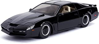 Jada 1: 24 Hollywood Rides Knight Rider KITT with Light Pontiac Firebird 30086, Black