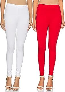 Amazon Brand - Myx Women's cotton legging Bottom (Pack of 2)
