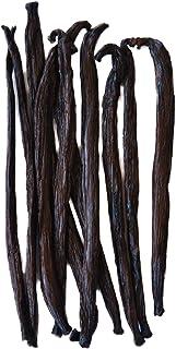 Native Vanilla - Tahitianische Vanilleschoten für Vanilleextrakt 10 Stück 11- 14cm hochwertige Schoten.