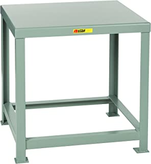 Little Giant MTH1-3036-30 Welded Steel Machine Table, 10,000 lb. Load Capacity, 30
