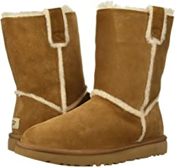 808ba52227b Ugg classic short leather chestnut + FREE SHIPPING | Zappos.com