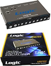 Graphic Equalizer 7 Band EQ Logic Sound lab Car Audio 7V Line Driver LEQ720