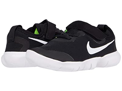 Nike Kids Free Rn 5.0 2020 (Infant/Toddler) (Black/White/Anthracite/Volt) Kid