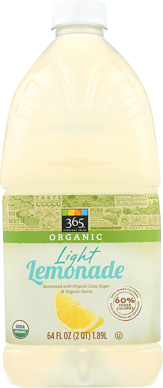 gift 365 Everyday Value Organic Light fl oz Import 64 Lemonade