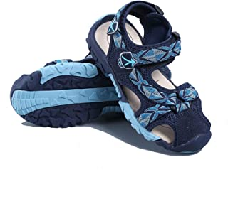 Vicamelia Kids Outdoor Athletic Sandals Closed/Open-Toe Strap Mesh Summer Water Shoes Little&Big Kids