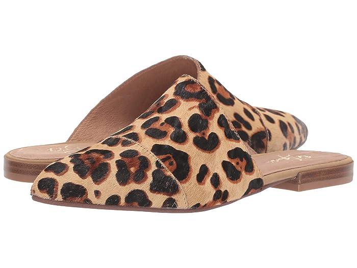 42 GOLD  Castle (Tan Faux Fur) Womens Flat Shoes
