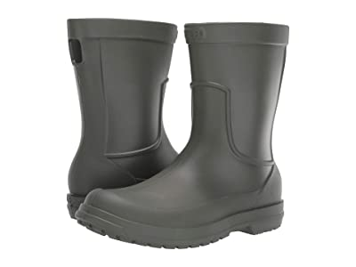 Crocs AllCast Rain Boot (Dusty Olive/Dusty Olive) Men