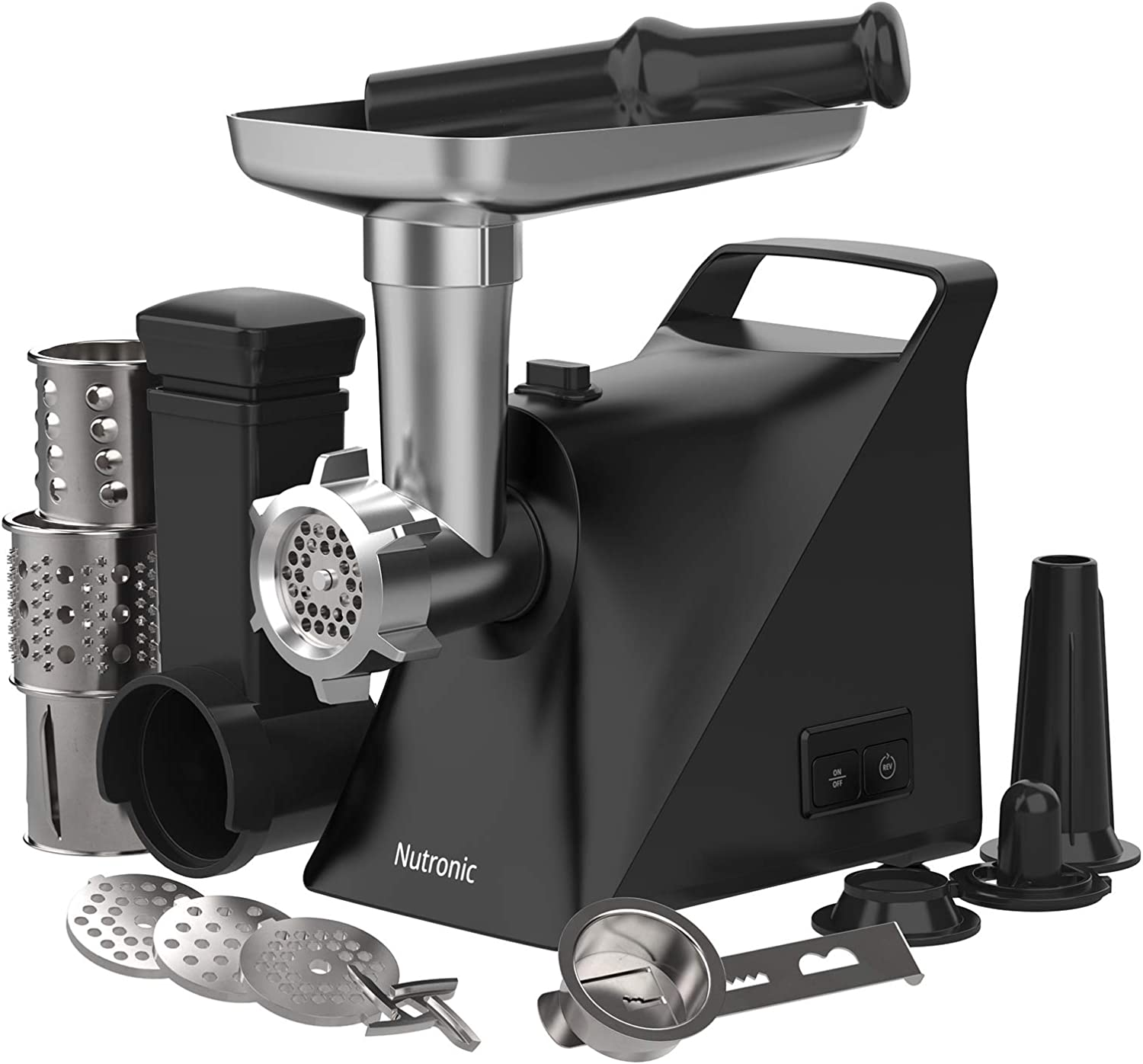 Meat Grinder with 3 Grinding Credence Kibb Department store Stuffer 1300W Plate Sausage