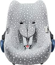 JANABEBE Funda para Maxi Cosi y sillas de coche grupo 0 (White Star)