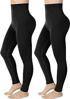 Emooqi Mallas Deporte Mujer, Leggings Deportivos de Cintura Alta Pantalones Mujer de Yoga Elásticos para Pilates Running F...