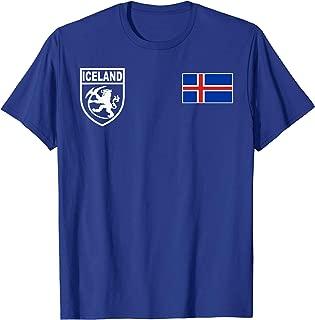 Iceland Icelandic Football Fotbolti Soccer Jersey Shirt