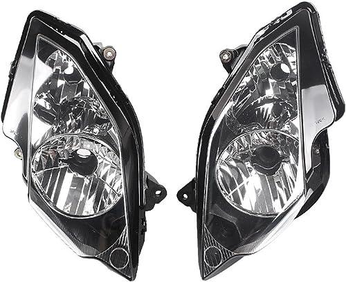 Mallofusa Front Headlight Headlamp Assembly for Honda VFR800 2002-2012 Motorcycle Head Light Assembly