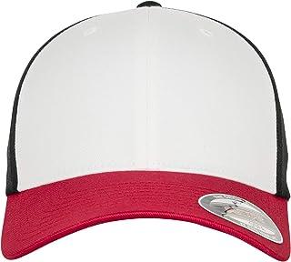 Flexfit 3-Tone Red/White/Black