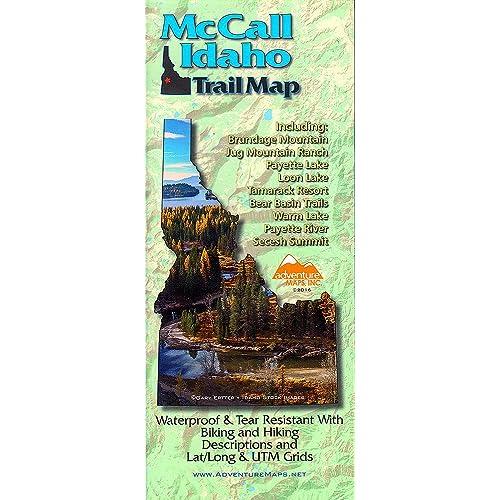 Idaho Maps: Amazon com