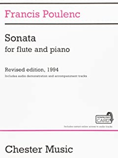 Sonata for Flute and Piano: Revised Edition, 1994 Audio Edition