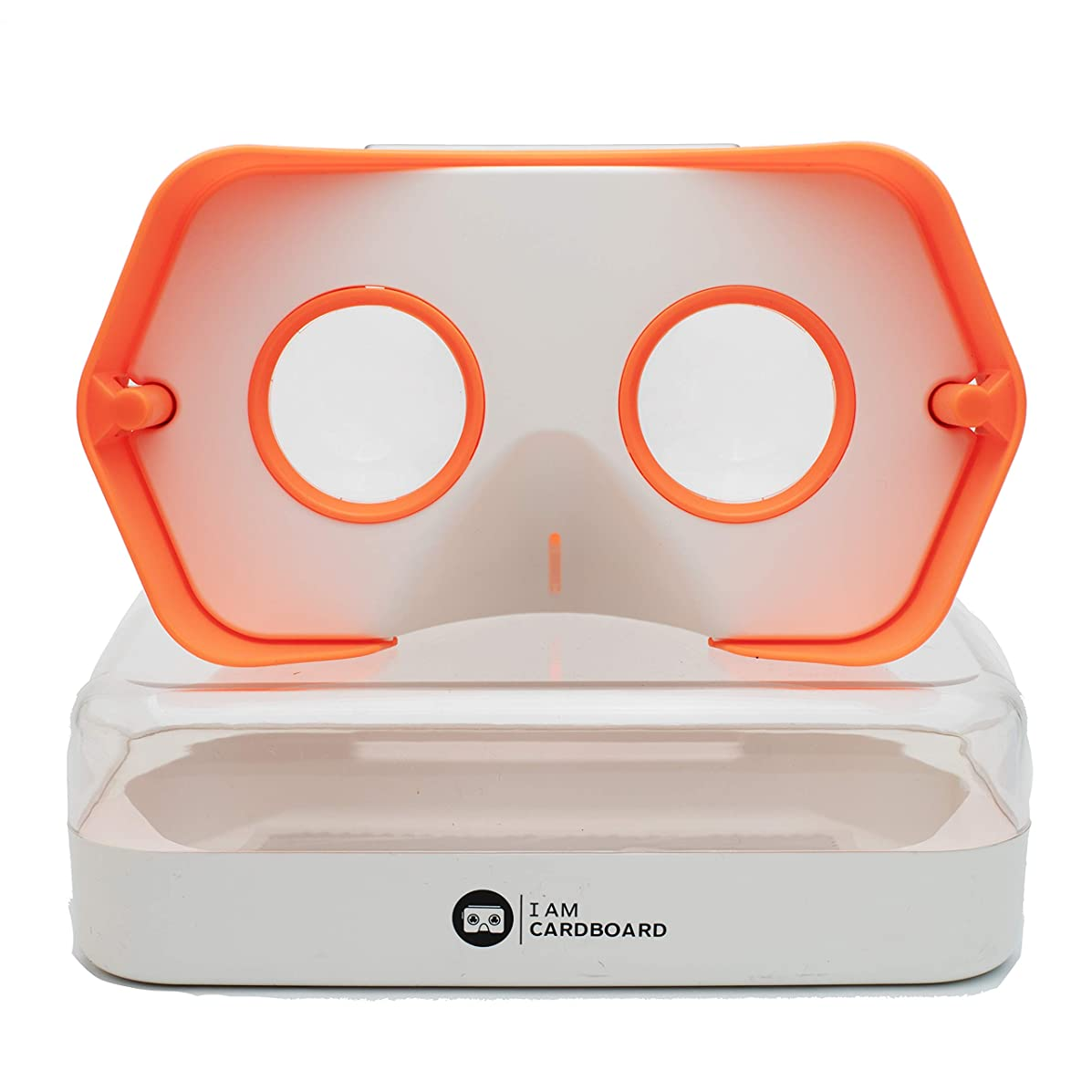 DSCVR VR Headset | The Best Virtual Reality Goggles for iPhone and Android | Google Cardboard v2 Inspired | Cool and Unique Travel Gift Under 25 Dollars