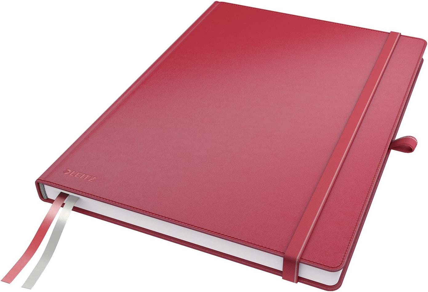 Leitz Purchase A4 Hard Cover Notebook Red Sheets Sale SALE% OFF 80 Paper wit Squared