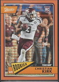 2018 Classics Christian Kirk Cardinals Rookie Football Card #222