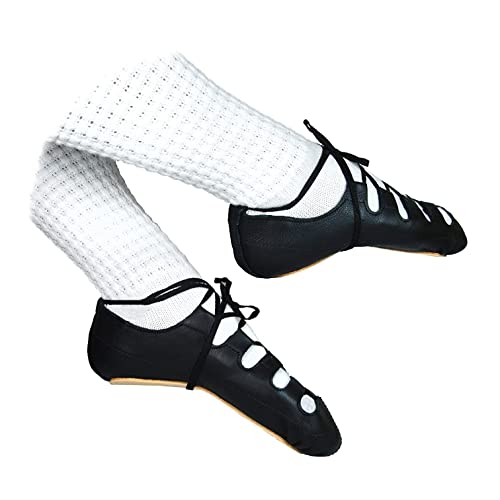 NEW Antonio Pacelli Essential Irish Dance Soft Shoes adult size 7 Pumps Ghillies