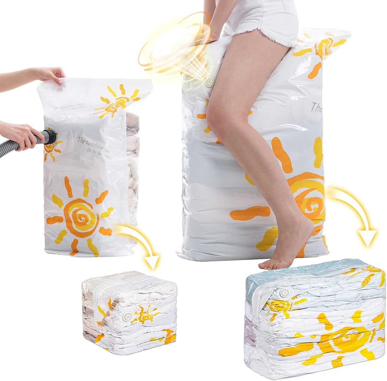 Premium Max 60% OFF Space Saver Bags Jumbo Vacuum Cube Storage 6-Pack Jacksonville Mall