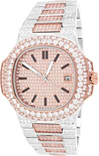 two tone automatic watch