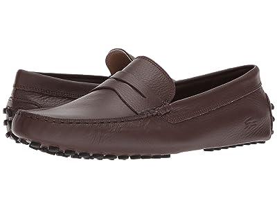 Lacoste Concours 118 1 P (Brown/Black) Men