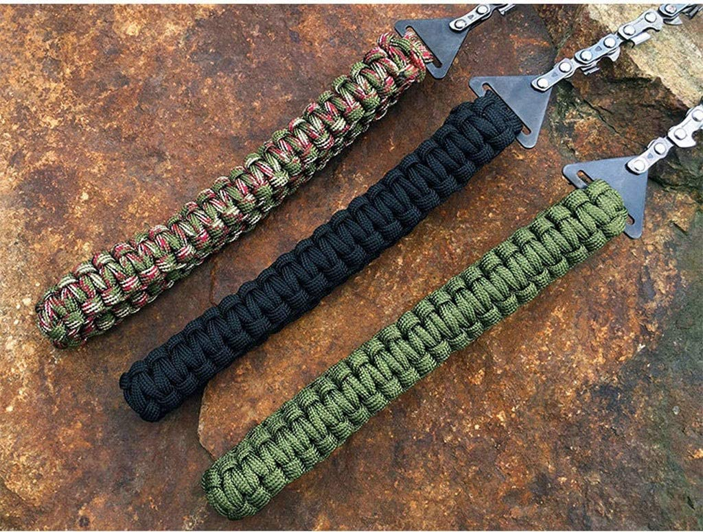WY001 Survival Gear Garden Pocket Chain Manufacturer direct Be super welcome delivery Saw Chainsaw Handle Stee