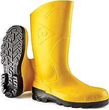 Dunlop Men Purofort Comfort Grip Full Safety Blue Various Size E262673