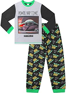 Boys' Star Wars Baby Yoda The Mandalorian Power Nap Pyjama Set