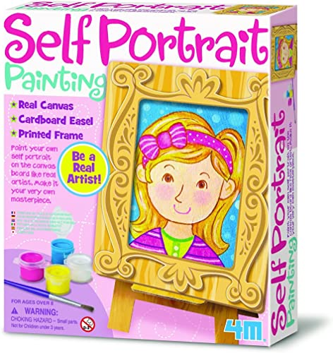compra limitada 4M 4M 4M Self Portrait Painting Kit by 4M  servicio considerado
