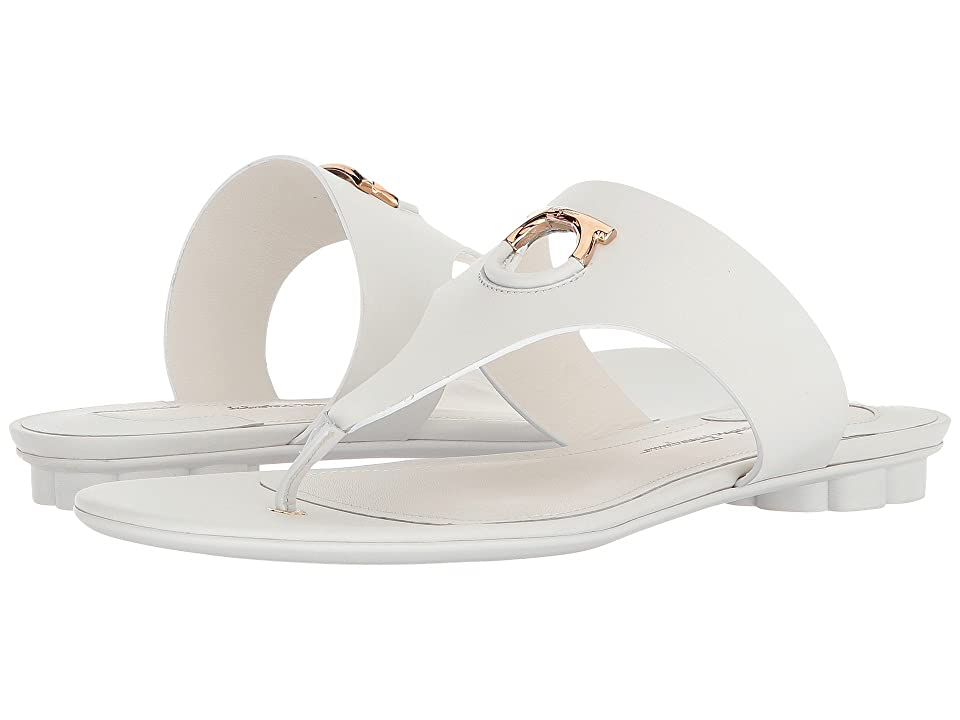 3e81684007332 Salvatore Ferragamo Enfola (New Bianco Ottico Ricotta Alexand Calf) Women s  Sandals