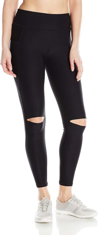 X by Gottex Womens Knee Cut Out Legging Leggings