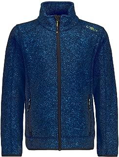 CMP 男孩针织羊毛夹克 海蓝色 140