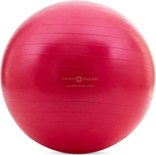 Fitness Republic Stability Ball with Pump (Exercise Ball/Gym Ball)