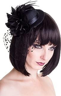 Vintage Big Black Hat