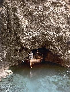 Austria-Hungary Cave Ncave In The Island Of Bisevo In Dalmatia Austria-Hungary (Present Day Croatia) Photochrome C1895 Pos...