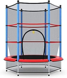 comprar comparacion COSTWAY Cama Elástica Infantil Trampolín Jardín 140cm con Red de Seguridad Peso Carga Máximo 50 KG