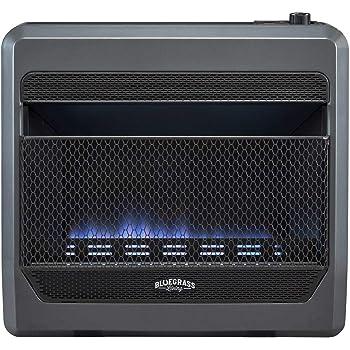 Bluegrass Living Bluegrass B30TPB-BB Vent Free Blue Flame Gas Space Heater