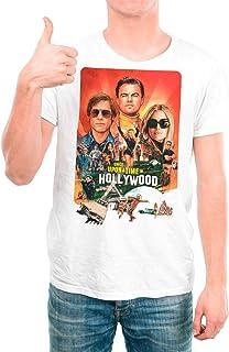 DibuNaif Camiseta Cine Hombre - Unisex Érase una Vez en Hollywood. Quentin Tarantino