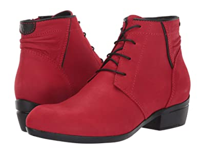 Wolky Delano (Dark Red) Women