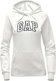 GAP Women's Pullover Fleece Logo Hoodie