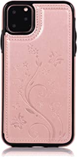 PU Leather Flip Cover Compatible with Samsung Galaxy S20 Ultra, Elegant rose gold Wallet Case for Samsung Galaxy S20 Ultra