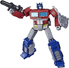 Transformers Toys Generations War for Cybertron: Earthrise Leader WFC-E11 Optimus Prime Action Figure - Kids Ages 8 and Up...
